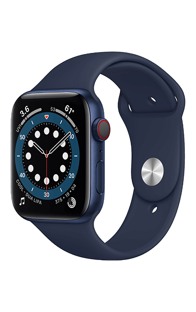 Blue Aluminium - Deep Navy Sport Band 40mm