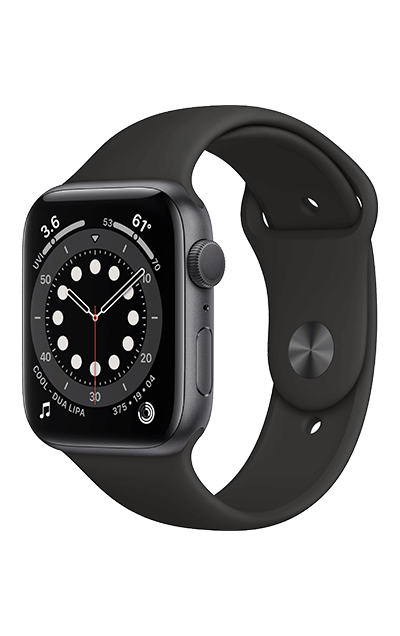 Space Gray Aluminium - Black Sport Band 40mm