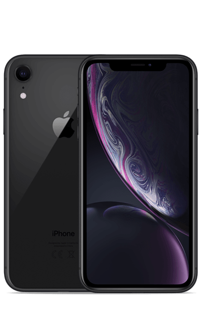 iPhone XR 64 GB Sort