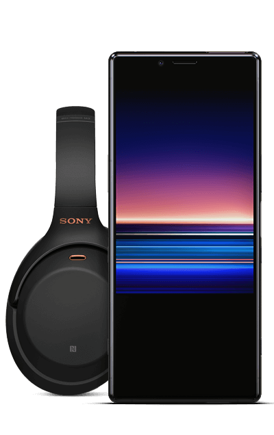 Sony Xperia 1 128 GB Sort